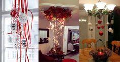 Hermosas ideas para decorar con esferas en Navidad