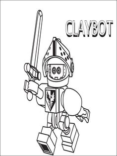 42 Best Nexo Knights Coloring Pages Images Coloring Books