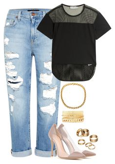 """""""Untitled #237"""" by jguest01 ❤ liked on Polyvore featuring Genetic Denim, adidas, Gianvito Rossi, Charlotte Russe, Apt. 9, women's clothing, women, female, woman and misses"""