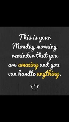 This is your monday morning motivation! Monday Morning Motivation, Monday Motivation Quotes, Work Motivation, Motivation Inspiration, Monday Morning Humor, Employee Motivation Quotes, Monday Sayings, Happy Monday Quotes, Good Monday Morning