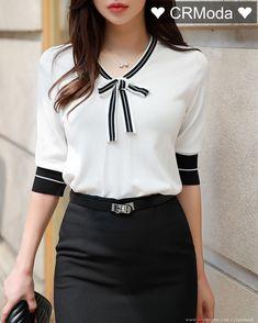 Korean Women s Fashion Shopping Mall Styleonme. Blouse Styles, Blouse Designs, Asian Fashion, Fashion Tips, Fashion Design, Fashion Brands, Fashion Online, High Fashion, Fashion Ideas