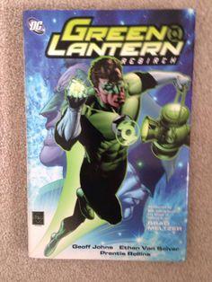 Green Lantern Rebirth Hc Signed With Sketch