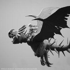 Dragons - Deadly Nadder, Andrea Blasich