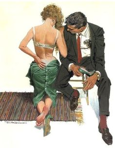 Robert E McGinnis; this is surprisingly tender.