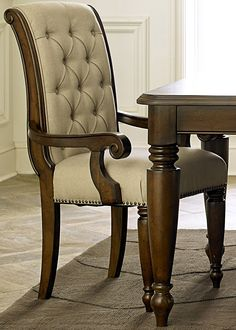 Cotswold Upholstered Dining Arm Chair | Liberty Furniture | Home Gallery Stores