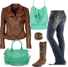 """""""Classy Cowgirl"""" by cityfoal on Polyvore"""