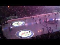 HD Winnipeg Jets Entrance - First Game