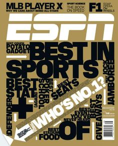 Espn Magazine Best In Sports Darrelle Revis Dwight Freeney Celebrity Golf 2010 Beer Label Design, Got Game, Sports Graphics, Nutrition And Dietetics, Design Language, Healthy Snacks For Kids, Magazine Design, Espn, Graphic Design Inspiration