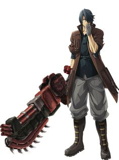 Lindow Amamiya from God Eater