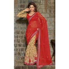 Ready For Shop ‏@Ready For Shop  4m Cream & Pink Georgette / Crepe Saree Rs. 2,399.00 Cream & Pink Georgette / Crepe Saree http://www.readyforshop.com/cream-pink-georgette-crepe-saree.html#.Uw2nG-NdVe8 … pic.twitter.com/xKbzH2xrR0