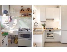 Hola de nuevo!  Ésta es una de las cocinas Ikea que os decía en el post anterior que habíamos instalado, siempre con frontal blanco y encimera en madera. Algunas me habéis preguntado por las …