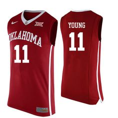 a48f2f57468 Hot Oklahoma Sooners #11 Trae Young basketball Jerseys $29 Basketball Kit,  Uniform Design,