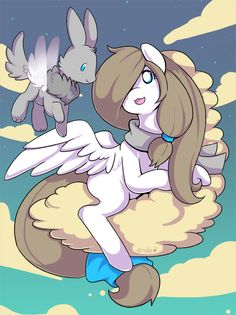 if my old self had wings and a pony trainer