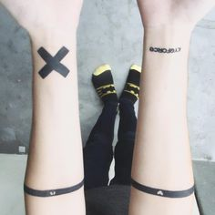 "Kyle David Hall's tattoos ""The ✖️(x) stands for me being stronger then self harm and not allowing it to consume me anymore. It's there for when ever I feel it again to know to stop…"""