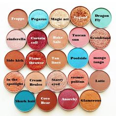 Must have makeup geek shades. ✔️