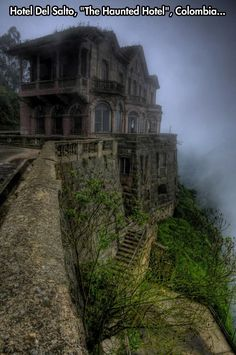See more pics here: http://curioushistory.com/post/53267644489/abandoned-hotel-colombia#.UyoCCv3ls7c
