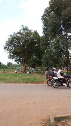 Street view near Kitale