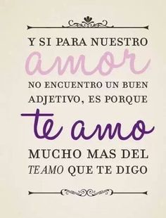 Awwwww me encanto! For my bedroom The Words, All You Need Is Love, My Love, Spanish Quotes, Love Gifts, Decir No, Favorite Quotes, Love Quotes, Lettering