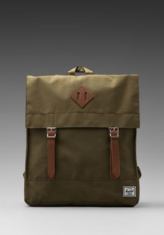 HERSCHEL SUPPLY CO. Survey Backpack in Army -