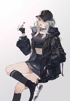A name that has long disappeared. A name that has died. A name that only roams in one place. The underworld. I dont anything but plot! Dark Anime Girl, Kawaii Anime Girl, Manga Girl, Pretty Anime Girl, Cool Anime Girl, Beautiful Anime Girl, Anime Art Girl, Anime Girls, Anime Oc