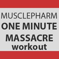 MusclePharm Fat Burner Workout – One Minute Massacre