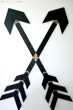 Wooden Wall Arrows by Two Thirty~Five Designs