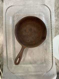 How to Restore a Cast Iron Pan   How to Season a Cast Iron Pan   How to remove rust from cast iron   The easy way to restore a pan   How to clean rusty cast iron   Easy rust remover   The right way to season a pan   Simple trick for removing rust from a cast iron pan   DIY Cast Iron Pan restoration   #TheNavagePatch #CastIron #RustRemoval #HowTo #Tutorial   TheNavagePatch.com Removing Rust, How To Remove Rust, Cleaning Rusty Cast Iron, Searing Meat, Seasoning Cast Iron, Cooking Tomatoes, Acidic Foods, Iron Pan, Restore