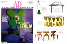 #colletto coffee table, design by @Moschino for #altreforme published on @Architectural Digest, May 2012 #arlecchino #interior #home #decor #homedecor #furniture #aluminium