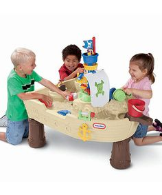Look what I found on #zulily! Deluxe Anchors Away Pirate Ship by Little Tikes #zulilyfinds