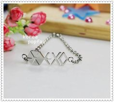 EXO-K EXO-M FROM EXO PLANET KPOP Stainless Steel Bracelet FREE SHIPPING