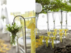 Secluded Costa Rica Wedding, love this I want mine the same exact thing just in different colors