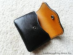 hand made hand stitched leather camera case