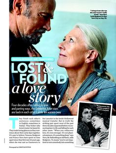 Vanessa Redgrave and Franco Nero: Lost & Found: A Love Story