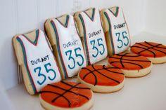 oklahoma city thunder cakes | Sweet Shop Natalie: Thunder Up - OKC Basketball