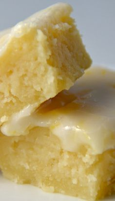 'Lemonies', not quite a lemon bar, not quite a brownie.....Packed with lemon…
