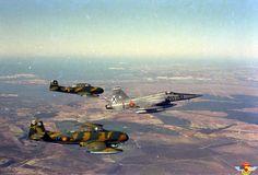 F5A & Saetas over Spain