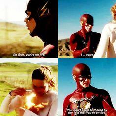 Supergirl & The Flash 1x18 World Finest