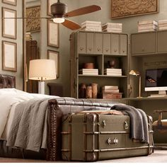 17 Wonderful Ideas For Vintage Bedroom Style
