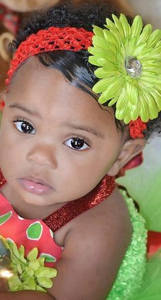 If my baby ever looked at me with those eyes I would go buy her a unicorn lol
