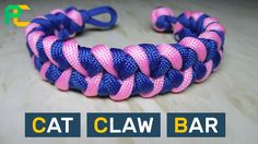 Cat Claw Paracord Bracelet without buckle