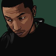 Pharrell   Art by Samona Lena info@scaredofmonsters.com http://scaredofmonsters.com http://instagram.com/ho3sz http://www.scaredofmonsters.tumblr.com/ https://society6.com/scaredofmonsters http://nabaroo.com/Samona/nabs