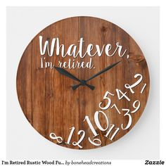 Rustic Wall Clocks, Wood Clocks, Wood Projects That Sell, Pallet Projects, Wood Burned Signs, Wood Slice Crafts, Wood Burning Art, Wood Detail, Home