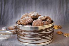 Biscuiti Dietetici cu Nuca (fara zahar, fara unt, 100% sanatosi)