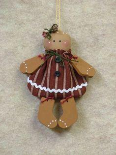 Mini Gingerbread Ornament