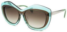 Fendi FF0029-7NUCC-56 Women's Fashion Translucent Blue & Brown Sunglasses #sunglasses #womens #summer