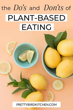 The whole food plant based diet explained - Here are the do's and don'ts of plant-based eating! These tips are perfect if you're a beginner and need to know which plant foods to eat and what to avoid. Source by plant based Plant Based Diet Meals, Plant Diet, Plant Based Whole Foods, Plant Based Nutrition, Plant Based Eating, Diet And Nutrition, Plant Based Recipes, Plant Based Diet Plan, Complete Nutrition