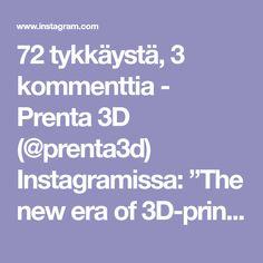 "72 tykkäystä, 3 kommenttia - Prenta 3D (@prenta3d) Instagramissa: ""The new era of 3D-printing from Prenta Finland with UPM and ABB. Ask more at myynti@prenta.fi Chair…"" Aga, Chair Design, Finland, 3d Printing, Prints, Instagram, Impression 3d"