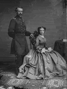 George and Libby Custer.