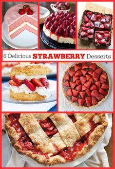 6 Delicious Strawberry Dessert Recipes