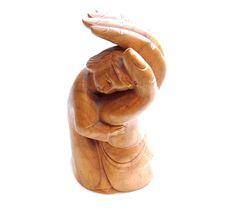 Vintage Wood Carving - Folk Art